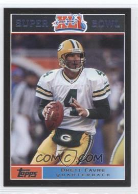 2007 Topps Super Bowl XLI - [Base] - Black #10 - Brett Favre /199