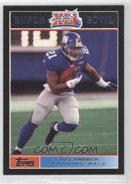 2007 Topps Super Bowl XLI - [Base] - Black #11 - Tim King /199