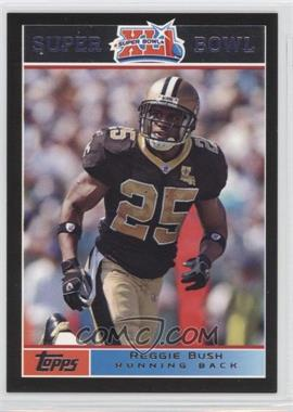 2007 Topps Super Bowl XLI - [Base] - Black #14 - Reggie Bush /199