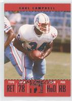 Earl Campbell #/1,099