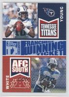 Vince Young, LenDale White [Noted] #/25