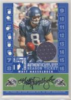 Matt Hasselbeck [Noted] #/10