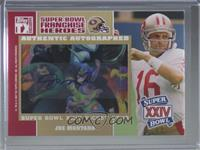Joe Montana, Jerry Rice #/10