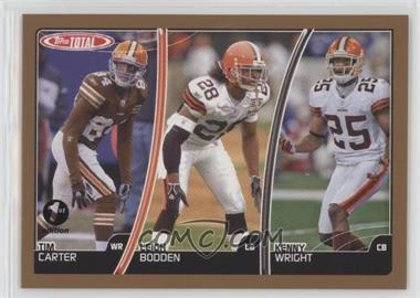 2007 Topps Total - [Base] - 1st Edition #22 - Tim Carter, Leigh Bodden, Kenny Wright