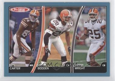 2007 Topps Total - [Base] - Blue #22 - Tim Carter, Leigh Bodden, Kenny Wright
