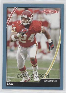 2007 Topps Total - [Base] - Blue #51 - Ty Law