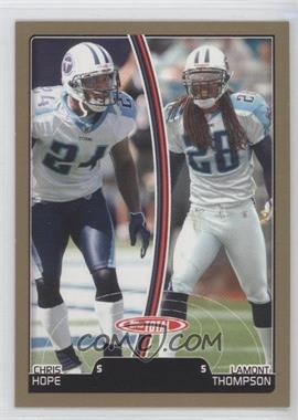 2007 Topps Total - [Base] - Gold #175 - Chris Hope, Lamont Thompson
