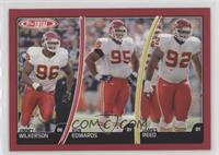 Jimmy Wilkerson, Ron Edwards, James Reed