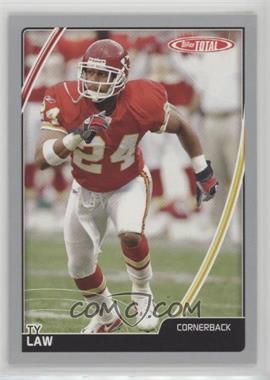 2007 Topps Total - [Base] - Silver #51 - Ty Law