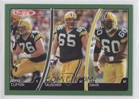 Chad Clifton, Mark Tauscher, Rob Davis
