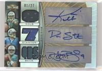 Kevin Kolb, Drew Stanton, John Beck [EXtoNM] #/27