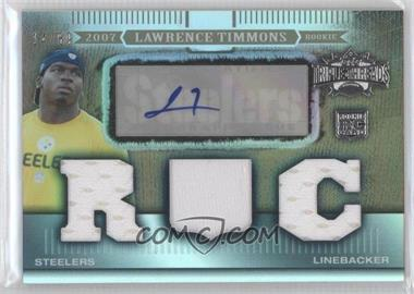 2007 Topps Triple Threads - [Base] - Sepia #104 - Lawrence Timmons /89