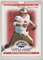 Steve Young #/1,449