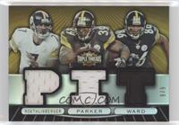 Ben Roethlisberger, Willie Parker, Hines Ward #/9