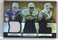 Tony Romo, Terrell Owens, Julius Jones /9