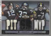 Terry Bradshaw, Franco Harris, Hines Ward /1
