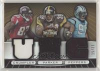 Alge Crumpler, Willie Parker, Julius Peppers /27