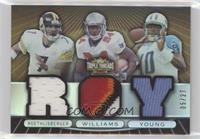 Ben Roethlisberger, Vince Young, Cadillac Williams #/27