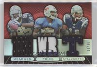 Peerless Price, Donte Stallworth, Robert Meachem /36