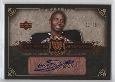 2007 UD Premier - Insignias Autographs - Bronze #IN-JH - Johnnie Lee Higgins /75