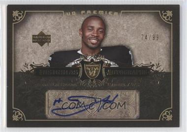 2007 UD Premier - Insignias Autographs #IN-JH - Johnnie Lee Higgins /99