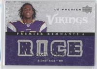 Sidney Rice #/99