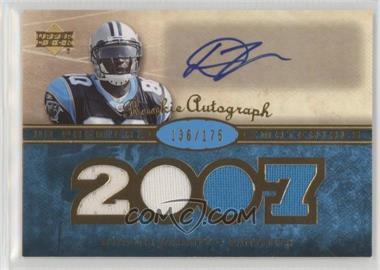 2007 UD Premier - Rookie Autographed Materials #146 - Dwayne Jarrett /175