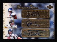 Legedu Naanee, Philip Rivers, Scott Chandler #/20