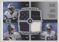 Tony Romo, Terrell Owens, Julius Jones /50