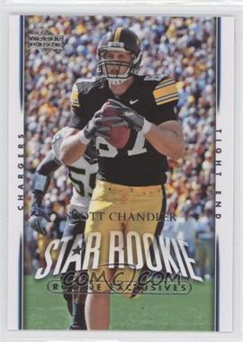 2007 Upper Deck - [Base] - Rookie Exclusives #259 - Scott Chandler