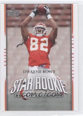 2007 Upper Deck - [Base] - Rookie Exclusives #285 - Dwayne Bowe