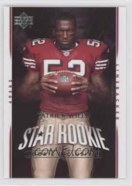 2007 Upper Deck - [Base] - Rookie Exclusives #288 - Patrick Willis