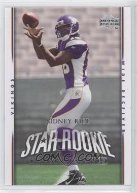 2007 Upper Deck - [Base] - Rookie Exclusives #293 - Sidney Rice