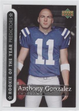 2007 Upper Deck - Rookie of the Year Predictors #ROY-AG - Anthony Gonzalez