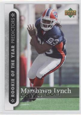 2007 Upper Deck - Rookie of the Year Predictors #ROY-ML - Marshawn Lynch