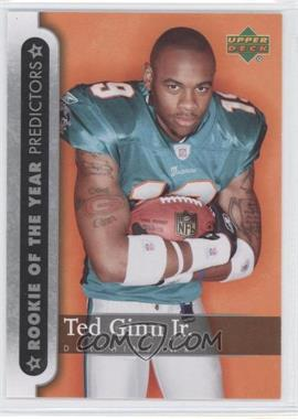2007 Upper Deck - Rookie of the Year Predictors #ROY-TG - Ted Ginn