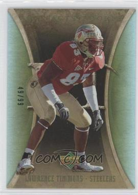 2007 Upper Deck Artifacts - [Base] - Green #183 - Lawrence Timmons /99