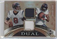 David Carr, Andre Johnson #/25