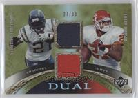 LaDainian Tomlinson, Larry Johnson #/99