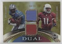 Roy Williams, Larry Fitzgerald /99