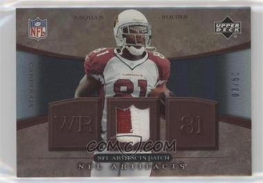 2007 Upper Deck Artifacts - NFL Artifacts - Patch #NFL-AB - Anquan Boldin /50