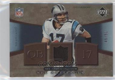 2007 Upper Deck Artifacts - NFL Artifacts - Patch #NFL-JD - Jake Delhomme /50