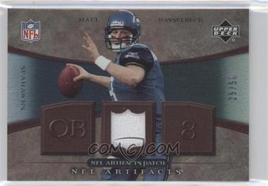 2007 Upper Deck Artifacts - NFL Artifacts - Patch #NFL-MH - Matt Hasselbeck /50