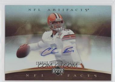 2007 Upper Deck Artifacts - NFL Facts - Autographs [Autographed] #NF-FR - Charlie Frye