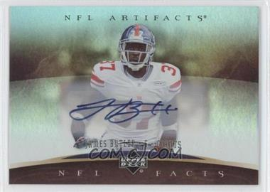2007 Upper Deck Artifacts - NFL Facts - Autographs [Autographed] #NF-JB - James Butler