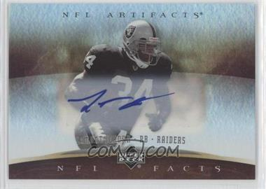 2007 Upper Deck Artifacts - NFL Facts - Autographs [Autographed] #NF-LJ - LaMont Jordan