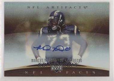 2007 Upper Deck Artifacts - NFL Facts - Autographs [Autographed] #NF-MM - Marcus McNeill