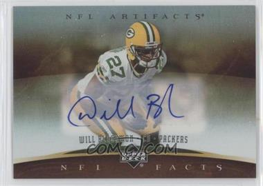 2007 Upper Deck Artifacts - NFL Facts - Autographs [Autographed] #NF-WB - Will Blackmon