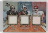 Drew Brees, Trent Green, Chad Pennington #/15