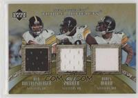 Ben Roethlisberger, Willie Parker, Hines Ward #/75
